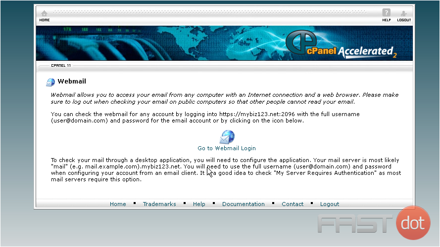 how to get into cpanel