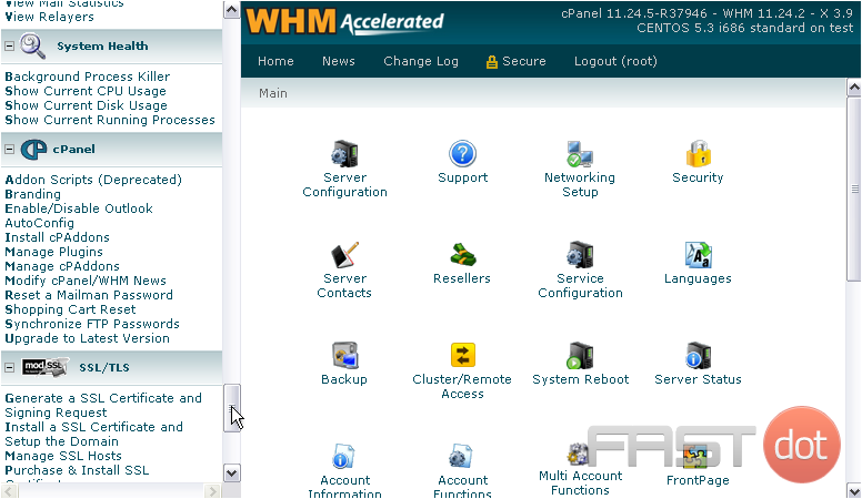 Manage cPanel Plugins in WHM