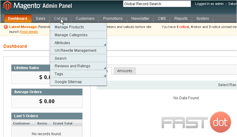 Adding products to a Magento store