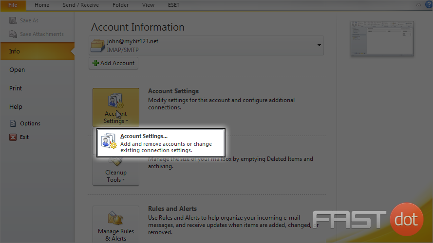 how to find your email password in outlook