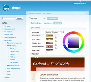 Drupal Web Hosting Themes