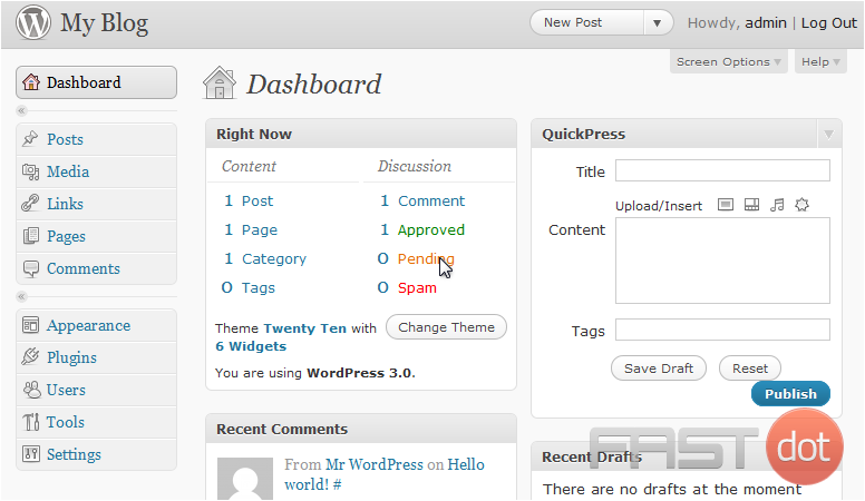 Configure your settings in WordPress