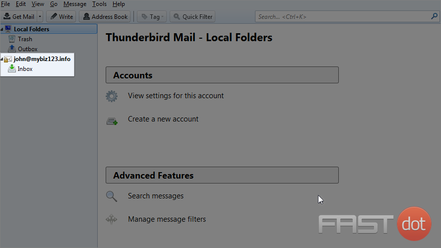 Thunderbird mail web email