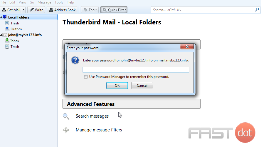Change your email password in ThunderBird